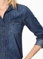 Mavi Jean Gömlek | Isabel Renkli